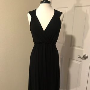 Little Black High Low Dress